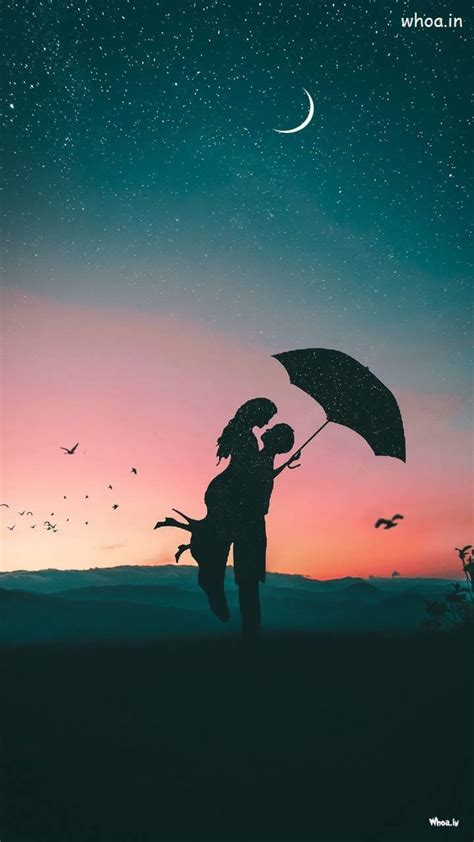 Couple Shadow Loving Hd Mobile Wallpaper Hd Images #2