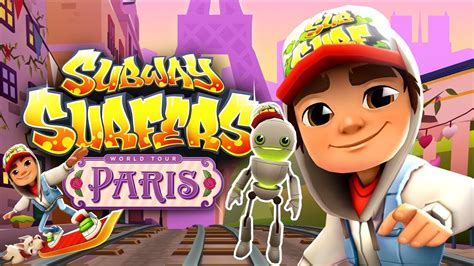 Subway Surfers Gameplay | Tagbot en Paris y Mystery Box
