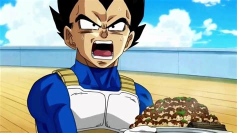 Vegeta Cooking for Lord Beerus Dragon Ball Super Episode 6