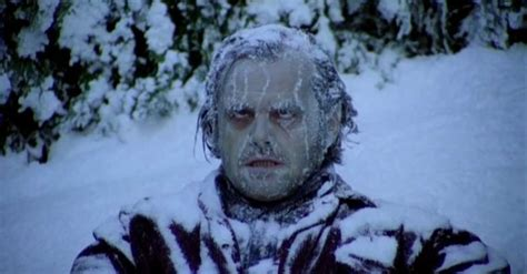 The Death of Jack Torrance in The Shining   Horror Movie