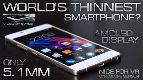 World's Thinnest Phone for only $85 (Quick Review
