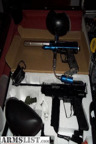 ARMSLIST - For Sale/Trade: Large lot of paintball guns and