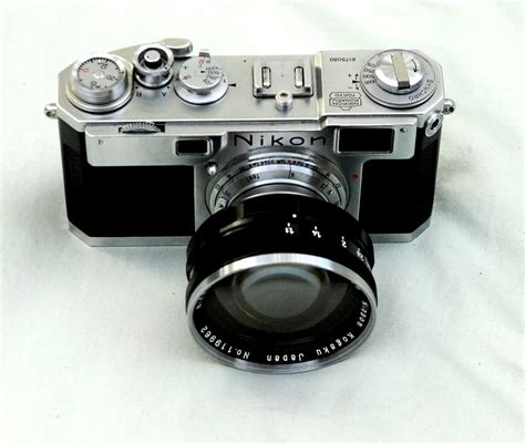 Vintage Camera House: Nikon S2 with Nikkor 50mm lens with