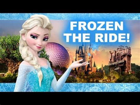 Frozen Ride at Epcot's Norway Pavilion! Christmas with