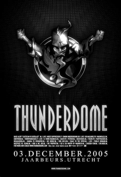 Thunderdome 2005 - Tickets, line-up, timetable & info