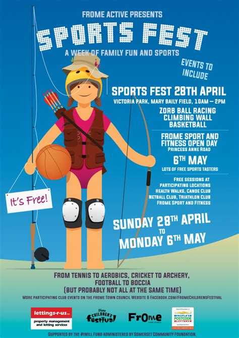 Sports Festival - Discover Frome