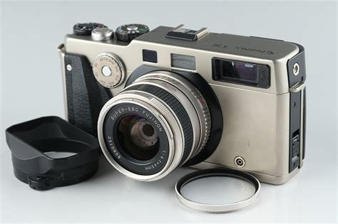 This Gorgeous Silver Fujifilm TX-1 Rangefinder Will Give