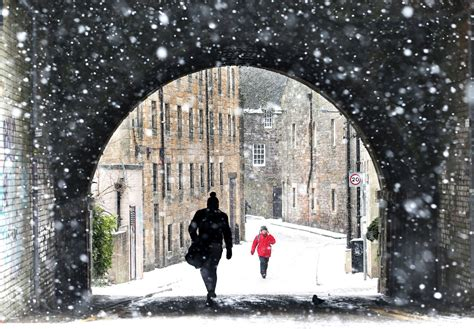 UK weather forecast: Snow set to hit parts of the country