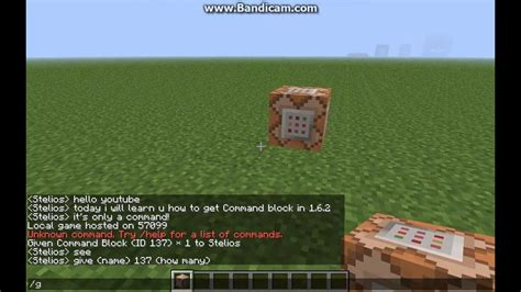 Minecraft-How to get Command Block in 1