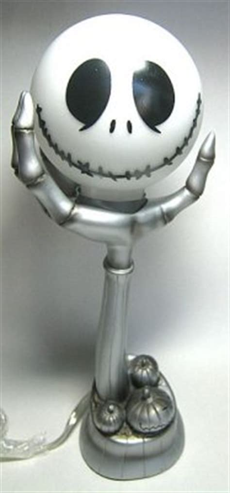 Jack Skellington head-on-hand lamp from our Nightmare