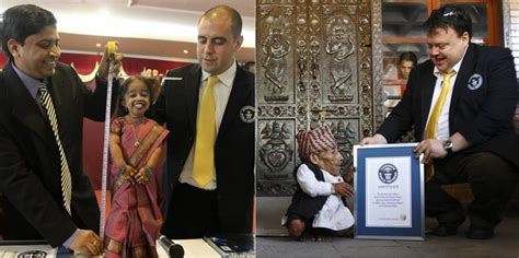 World's Shortest Man, Woman Meet for the First Time in