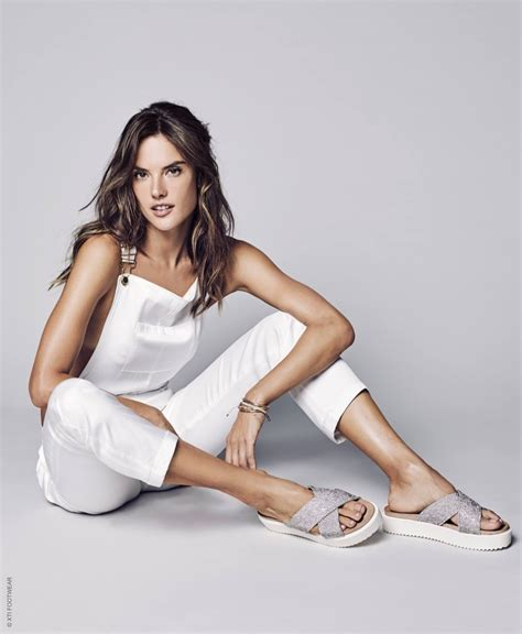 Alessandra Ambrosio Wears Stylish Sandals in XTI Shoes