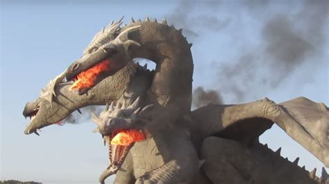 There's a GAME OF THRONES-Style Dragon Statue in Russia