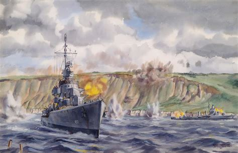 The Gallant Destroyers of D-Day   Naval History Magazine